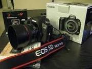 Brand New Canon EOS 5D Mark II 21MP DSLR