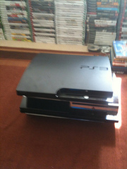 Sony PlayStation 3 Slim Game console - Charcoal black